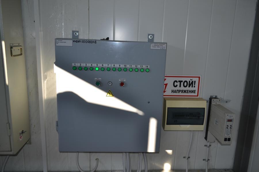 Шкаф телемеханики для ГЗУ