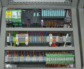 Шкаф управления двигателей на Siemens ET-200